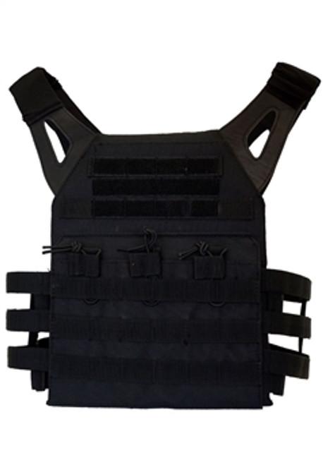 Tactical Plate Carry Vest - Black