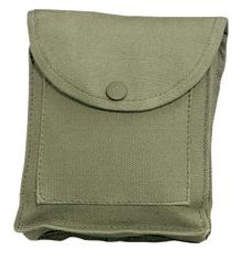 Canvas Utility Pouch - Olive Drab