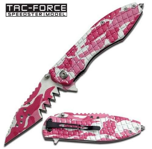 Tac Force 729DP Jagged - Pink Camo