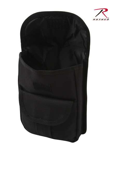 MOLLE Compatible 2-Pocket Ammo Pouch - Black