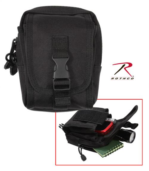 MOLLE Compatible Accessory Pouch - Black