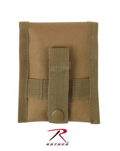 MOLLE Compatible Compass Pouch - Coyote Brown