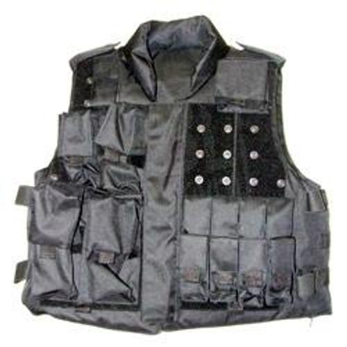 Tactical Gear Vest - Black