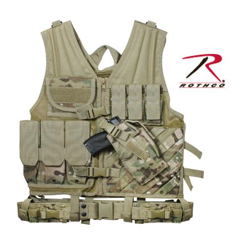 Tactical Cross Draw Vest - Multicam