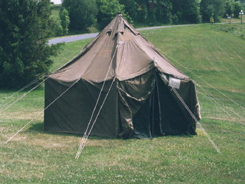 "General Purpose U.S. Armed Forces Small Tent-17'6""x17'6"""