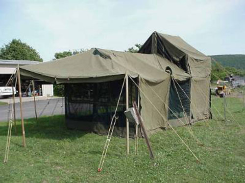 Kitchen Tent - U.S. Armed Forces