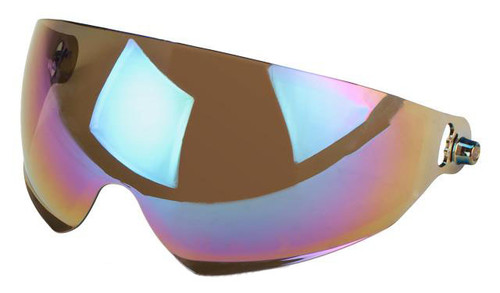 Emerson Lens for Bump Type Airsoft Helmets with Flip-down Visor - Rainbow