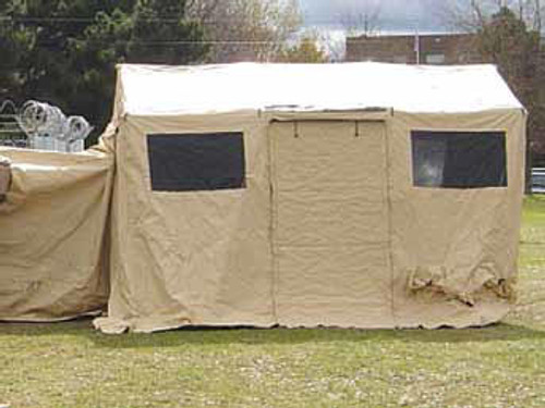 "U.S. Armed Forces Base X Tent 103 9'5""X15' - Desert Tan"