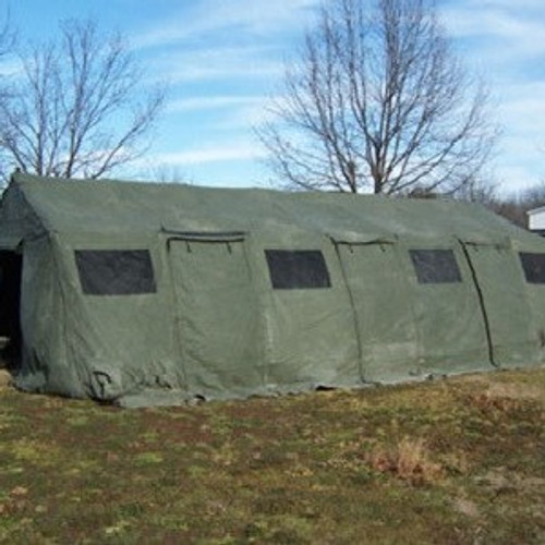 U.S. Armed Forces Base X Tent 307 18'X35'
