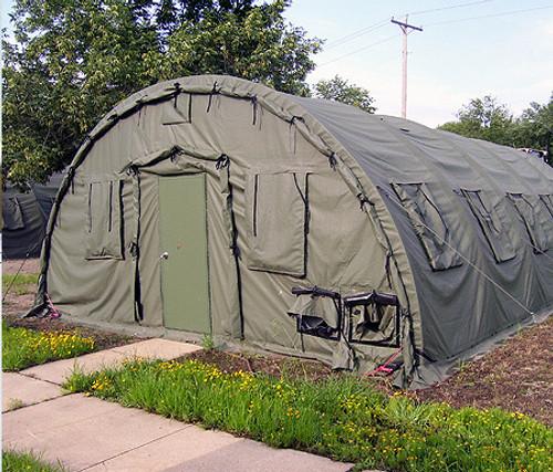 U.S. Armed Forces Alaska Shelter 20' x 32.5' Version 2 - Olive Drab
