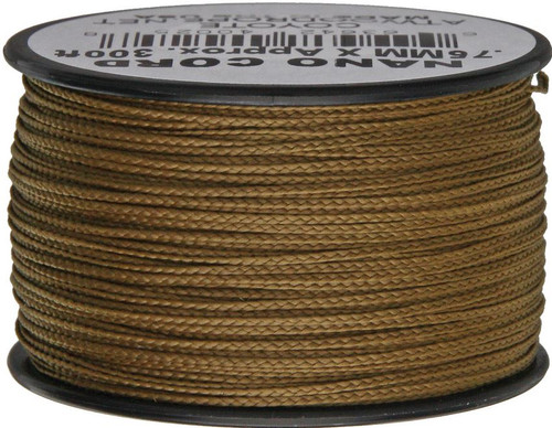 Nano Cord, 300 Ft. Spool - Coyote Brown