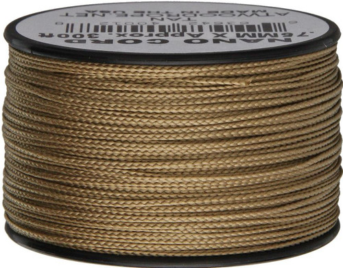 Nano Cord, 300Ft. Spool - Tan
