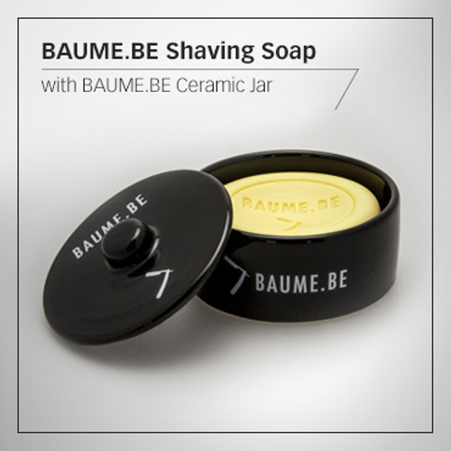 Baume.Be Shaving Soap with Ceramic Bowl 135g
