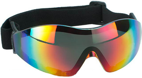 aa6f6c62a9b63 Global Vision Z-33 ANSI Z87.1 Rated Anti-Fog Safety Shooting Goggle -  Rainbow Mirrored Lens