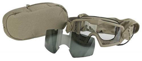 54605c7fa38 Smith Optics Outside the Wire Turbo Fan Goggle - Tan 499 (Smoked and Clear  Lens)