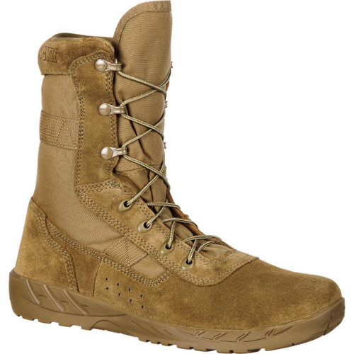 Rocky C7 CXT Lightweight Commercial Military Boot - Coyote Brown