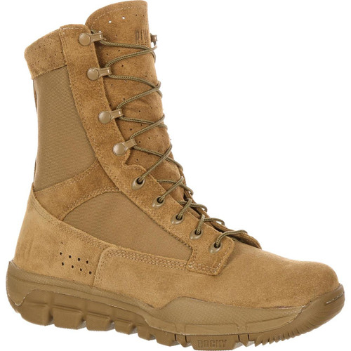 Rocky Lightweight Commercial Military Boot - Coyote Brown