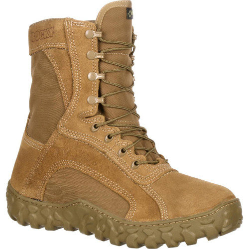 Rocky S2V Waterproof 400G Insulated Tactical Military Boot- Coyote Brown