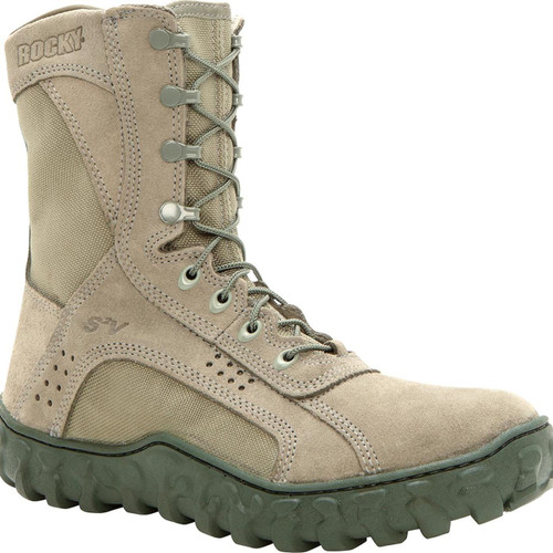 Rocky S2V Steel Toe Tactical Military Boot - Sage Green