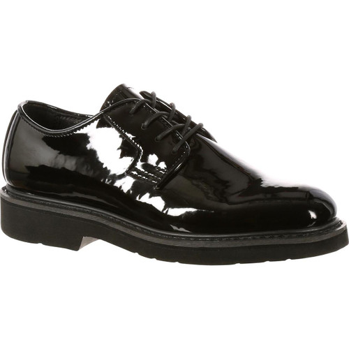 Rocky High-Gloss Dress Leather Oxford Shoe