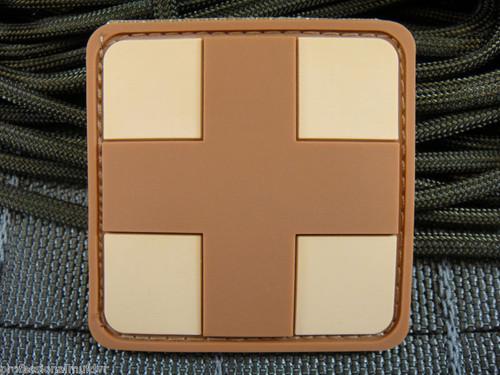 PVC Redcross Medic - Desert - Morale Patch