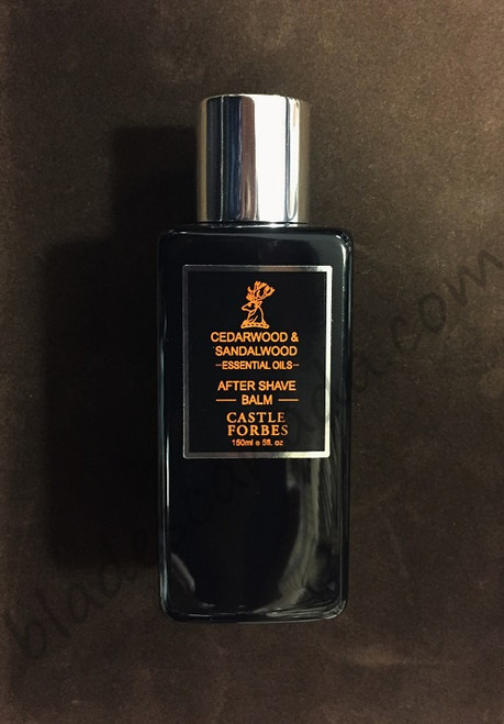 Castle Forbes Cedar and Sandalwood Aftershave Balm 150mL
