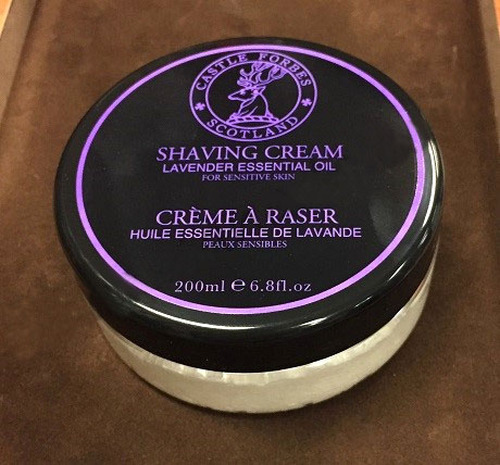 Castle Forbes Lavender Shaving Cream 200mL