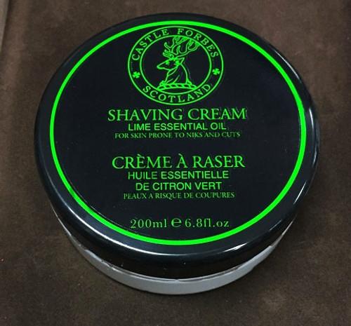 Castle Forbes Lime Oil Shaving Cream 200mL