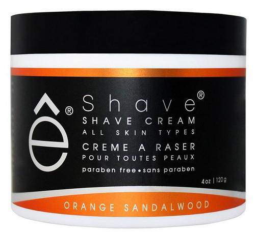 eShave Shaving Cream - Orange/Sandalwood