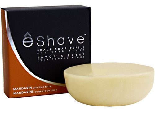 eShave Shaving Soap Refill - Mandarin & Shea Butter