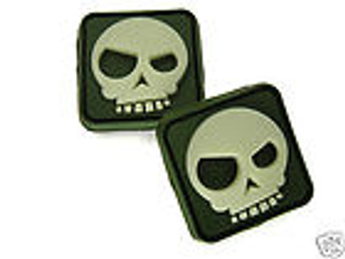 Triple Aught Design Mean T-Skull Pair - Olive - Morale Patch