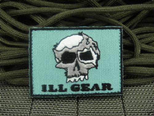 Zombie War Skull - Foliage - Morale Patch