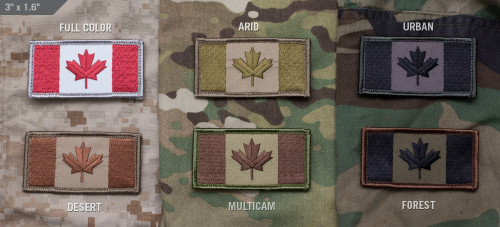 Canadian Flag - Morale Patch