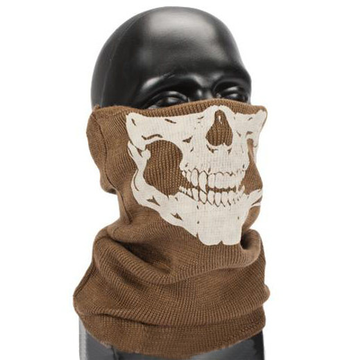 Matrix Ghost Special Forces Neck Gaiter Coyote Brown Hero Outdoors