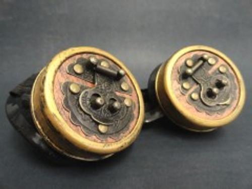 Steampunk Bronze Box Lock Goggles