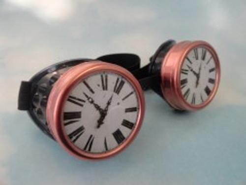 Steampunk Clock Face Goggles
