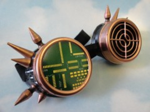 Steampunk STG05 Goggles