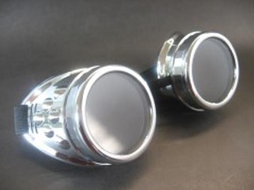 Silver Cyber Goggle
