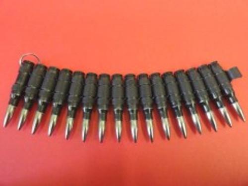 Bullet Bracelet - 0.308mm - Black/Nickle Tip