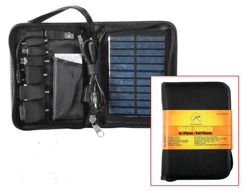 Deluxe Solar Charger For I-Phones / Cell Phones