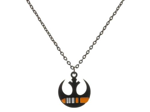 Star Wars Black Squadron Rebel Insignia Metal Chain Necklace