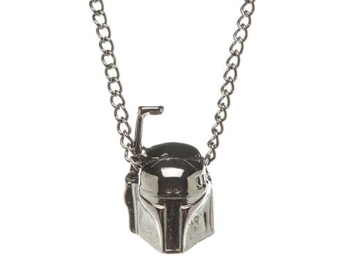 Star Wars Boba Fett 3D Metal Chain Necklace