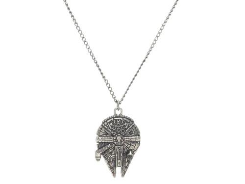 Star Wars Millennium Falcon Metal Chain Necklace