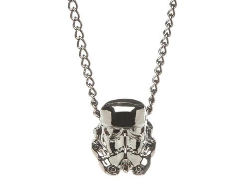 Star Wars Storm Trooper 3D Metal Chain Necklace