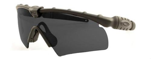 Oakley S.I. Ballistic M-Frame 2.0 Hybrid- Black with Grey Lense