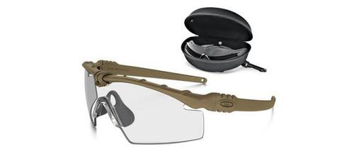 Oakley SI Ballistic M Frame 3.0 Array - Dark Bone w/ Clear & Grey Lenses
