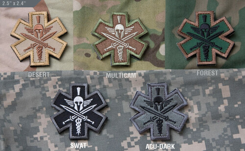 Tactical Medic - Spartan - Morale Patch