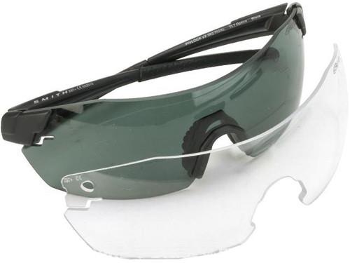 Smith Optics PivLock™ V2 Elite Glasses - Black w/ Grey & Clear Lenses