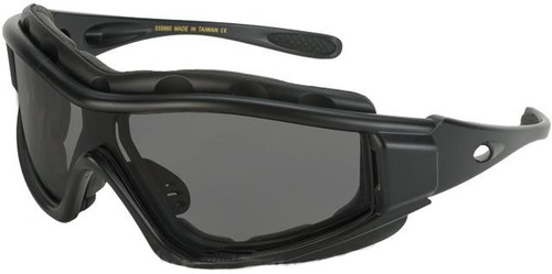 Tactical Convertible Shooting Glasses - Smoke Lens