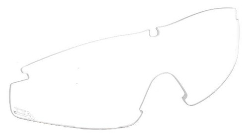TTD No Fog Tactical Military Spec Ballistic Shooting Glasses Interchangeable Lens (Color: Clear)
